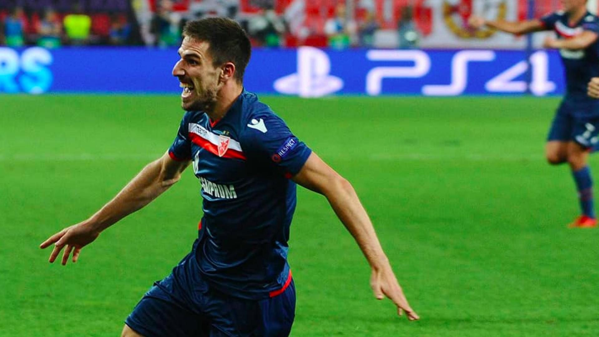 Milos Degenek Red Star Belgrade