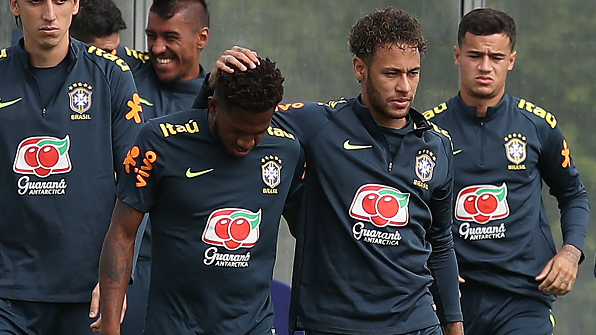 Manchester United midfielder Fred suffers 'ankle trauma' in Brazil training