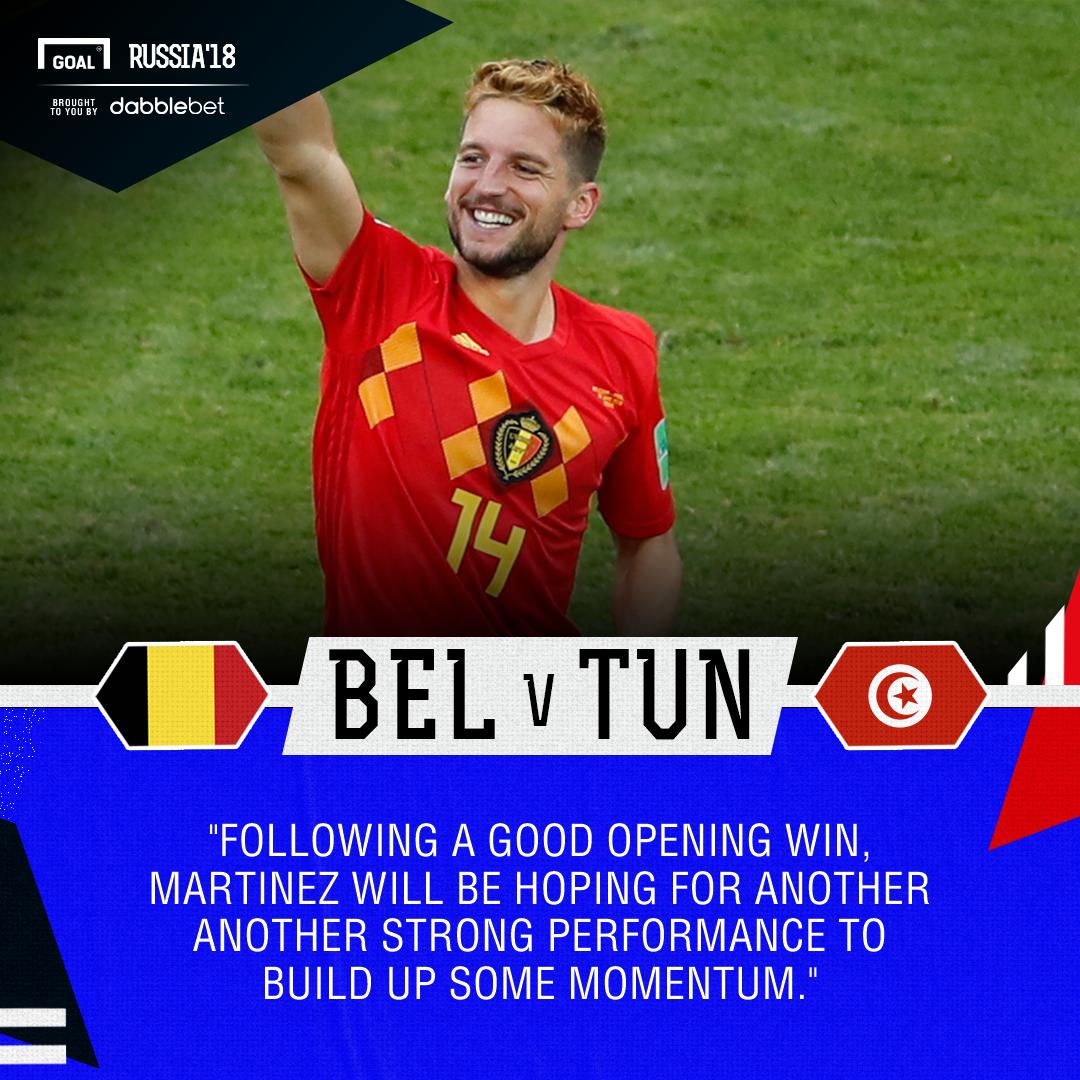 Belgium Tunisia graphic