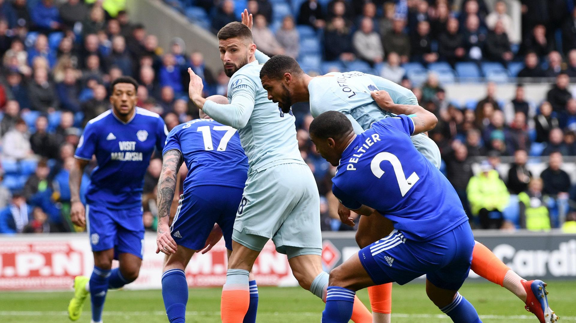 Ruben Loftus-Cheek Cardiff vs Chelsea Premier League 2018-19
