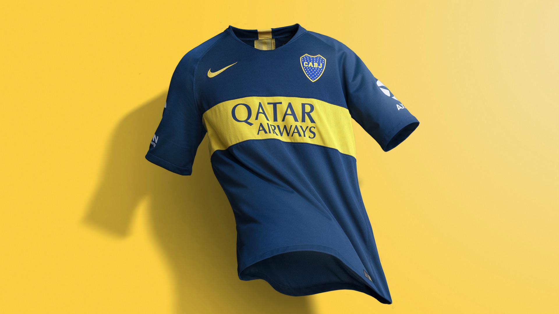 Boca Nueva Camiseta Presentacion Nike