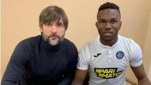 Nigerian youngster Darlington Igwekali seals Olimpik Donetsk move