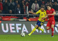 Marcus Berg Caglar Soyuncu Turkey Sweden UEFA Nations League 11/17/18