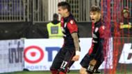 Diego Farias Nicolò Barella Cagliari Sassuolo Serie A 22122016