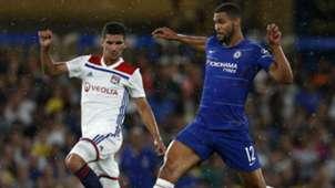 Houssem Aouar Ruben Loftus-Cheek Chelsea Lyon ICC 2018