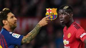 Lionel Messi Paul Pogba