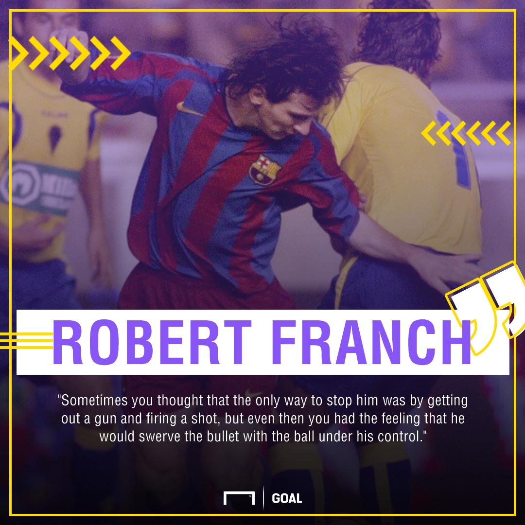 Messi quote Goal 50