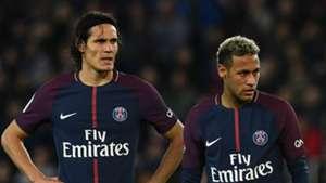 Edinson Cavani Neymar PSG Paris Saint-Germain