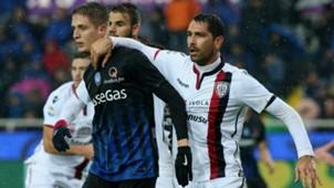 Andrea Conti, Marco Borriello, Atalanta, Cagliari, Serie A, 02052017