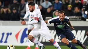Nabil Fekir Vitorino Hilton Montpellier Lyon Coupe de France 07022018