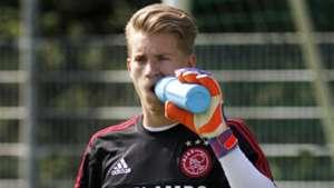 Joe van der Sar, Ajax, 08132015