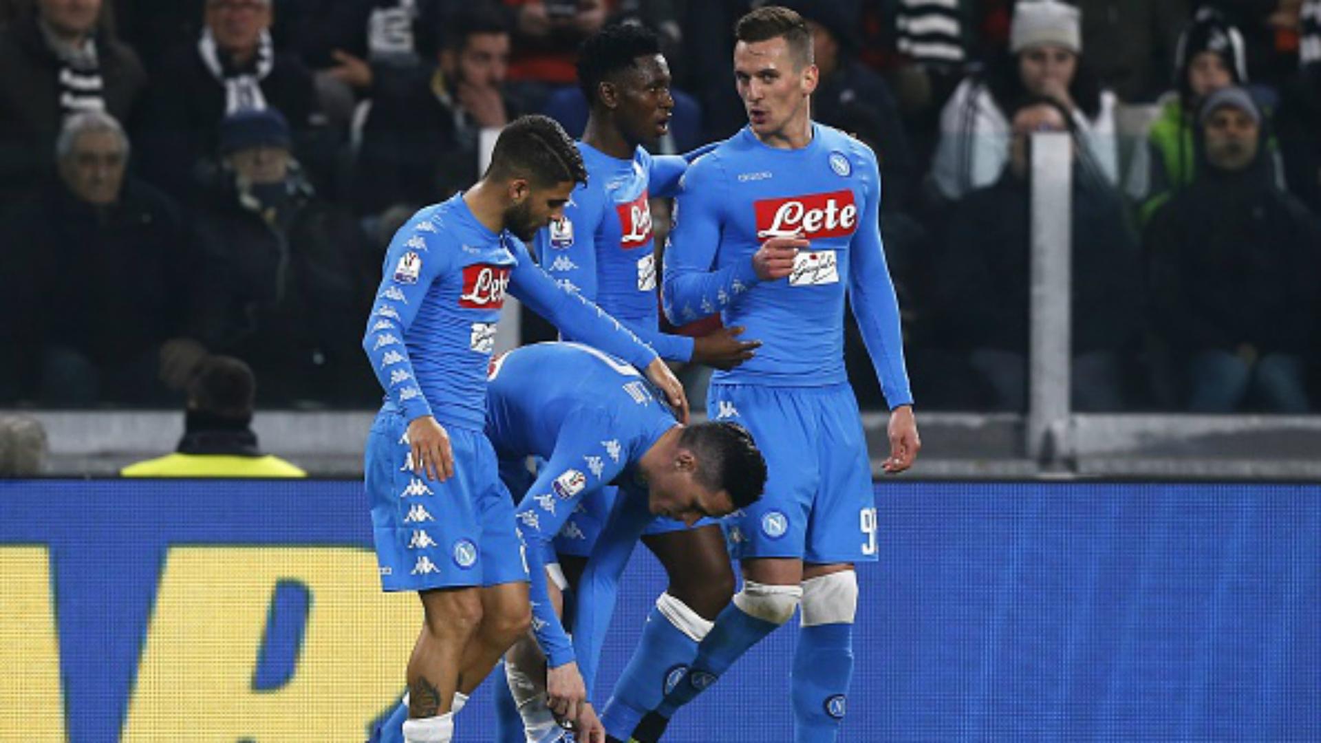Jose Callejon Lorenzo Insigne Juventus Napoli Coppa Italia