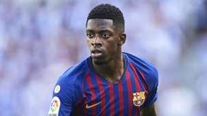 Ousmane Dembele Barcelona 2018