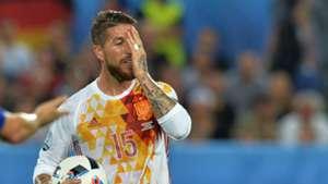 Sergio Ramos Spain Croatia
