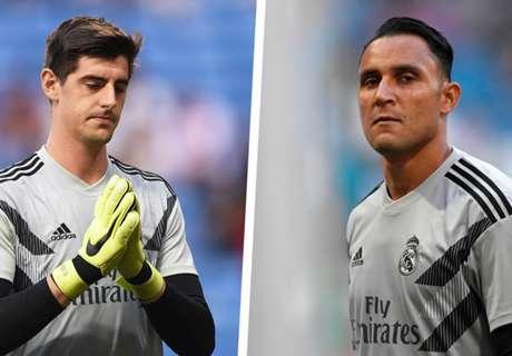 Courtois vs Navas en el Real Madrid