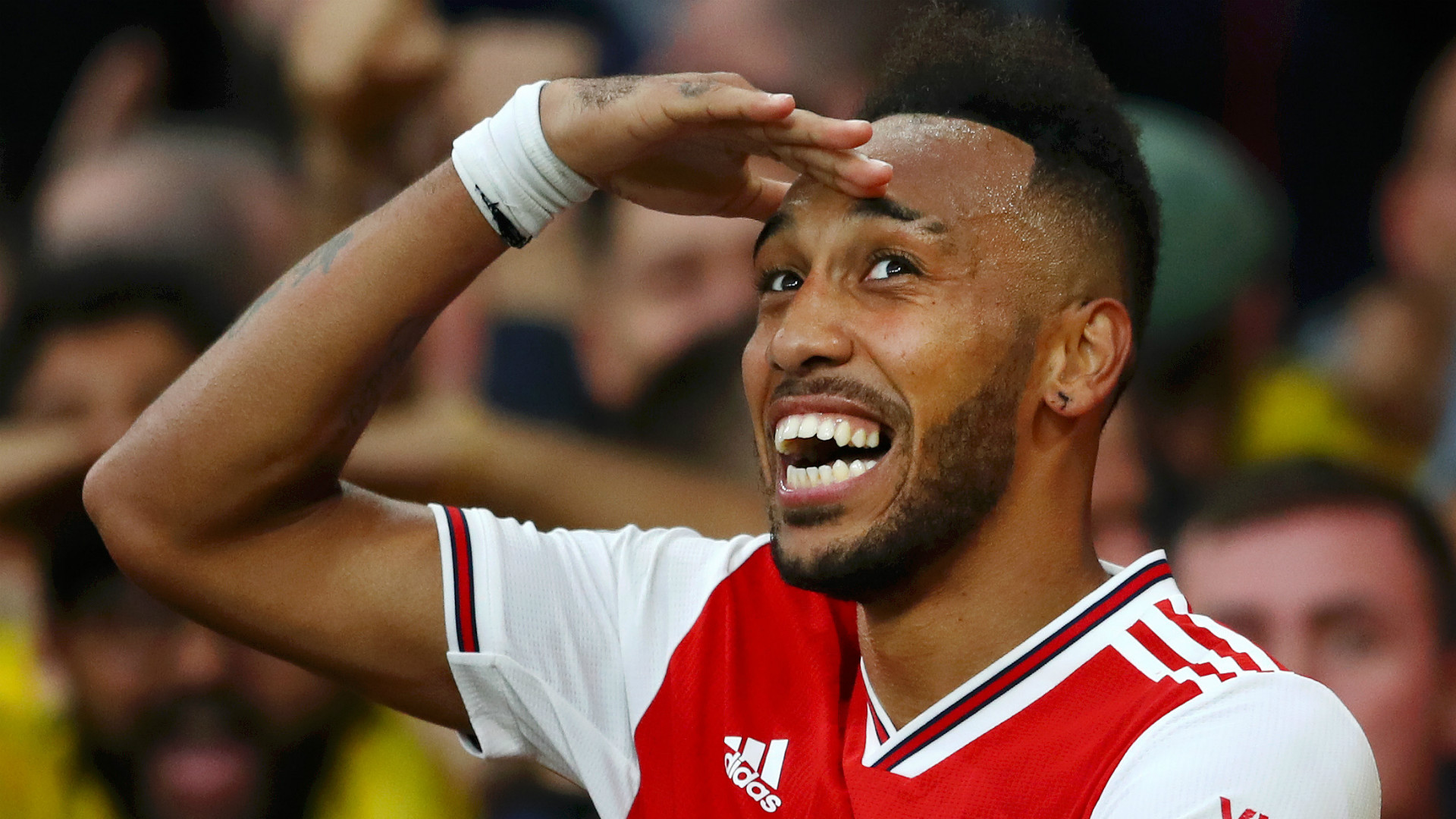 Aubameyang 'sure' Arsenal will finish in top four as his goals keep Gunners in the hunt