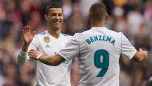 Cristiano Ronaldo Benzema Real Madrid Malaga