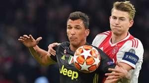 De Ligt Mandzukic Ajax Juventus Champions League