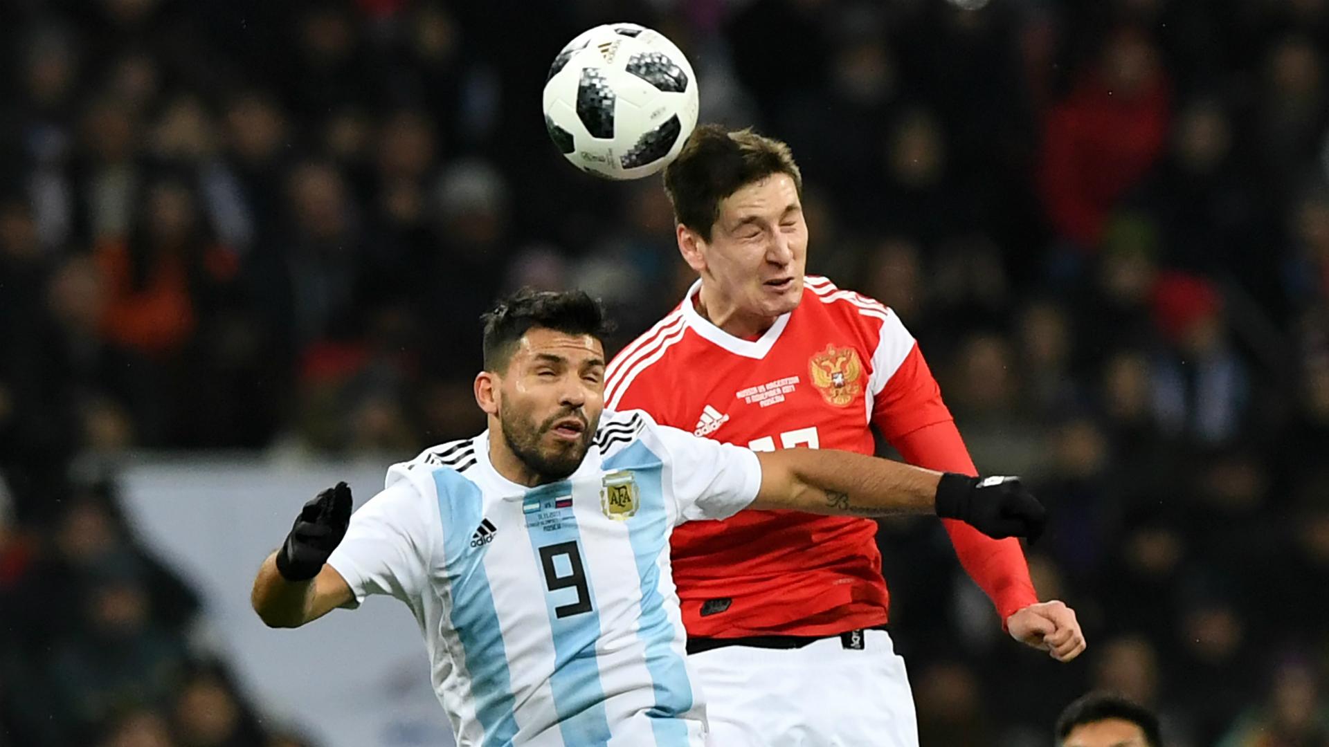 Sergio Aguero Russia Argentina