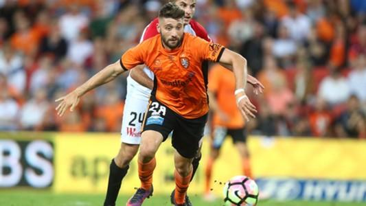 Brandon Borello Brisbane Roar Terry Antonis Western Sydney Wanderers A-League