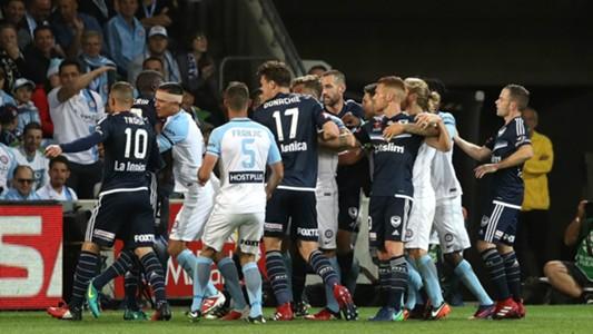 Melbourne City v Melbourne Victory A-League 17122016