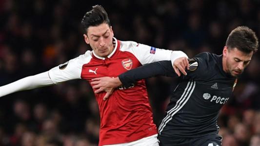 Mesut Ozil Arsenal CSKA Moscow