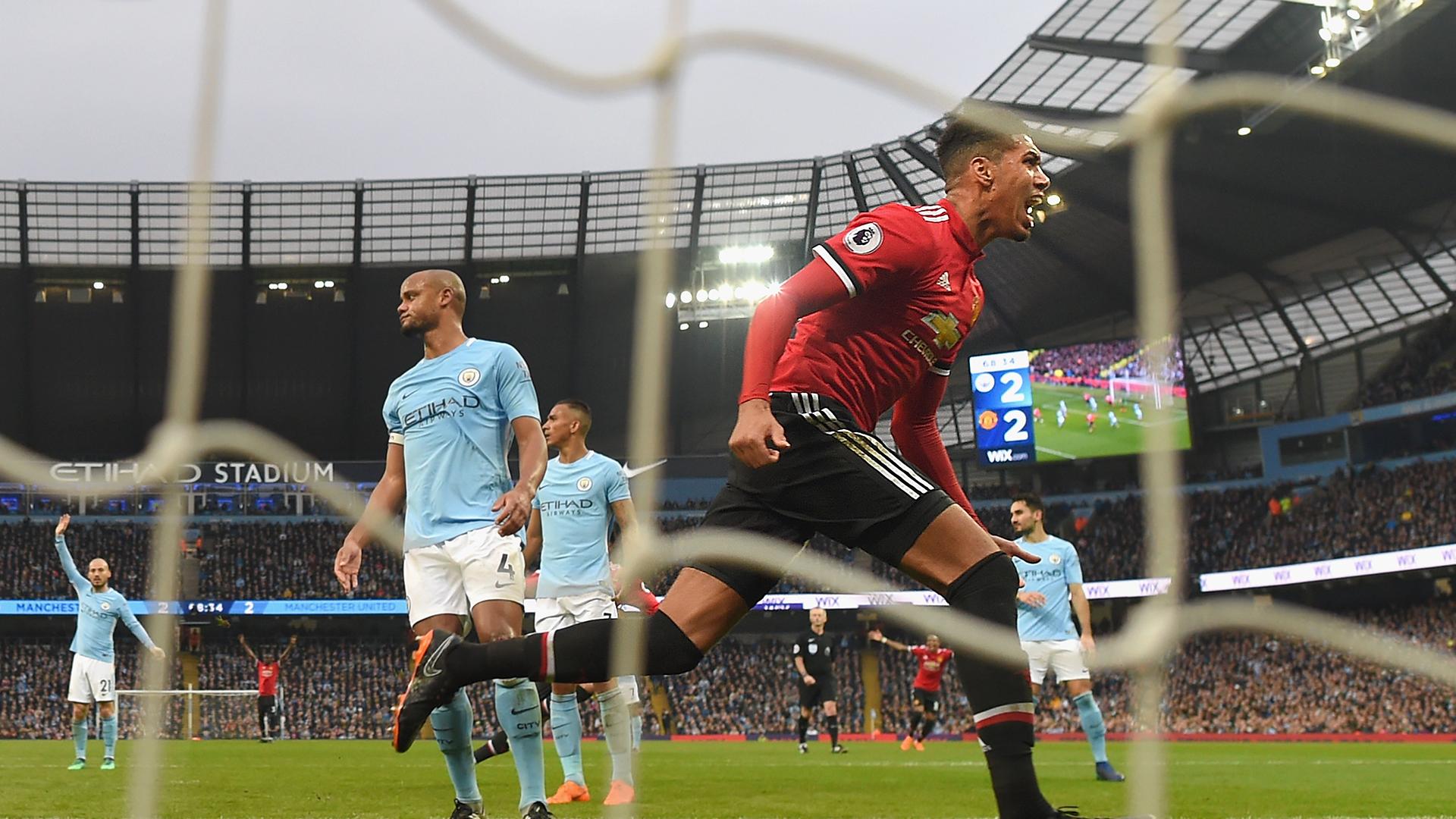 Manchester City Manchester United Premier League 2017-18
