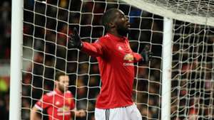 Romelu Lukaku, Manchester United vs Brighton, FA Cup, 17/18