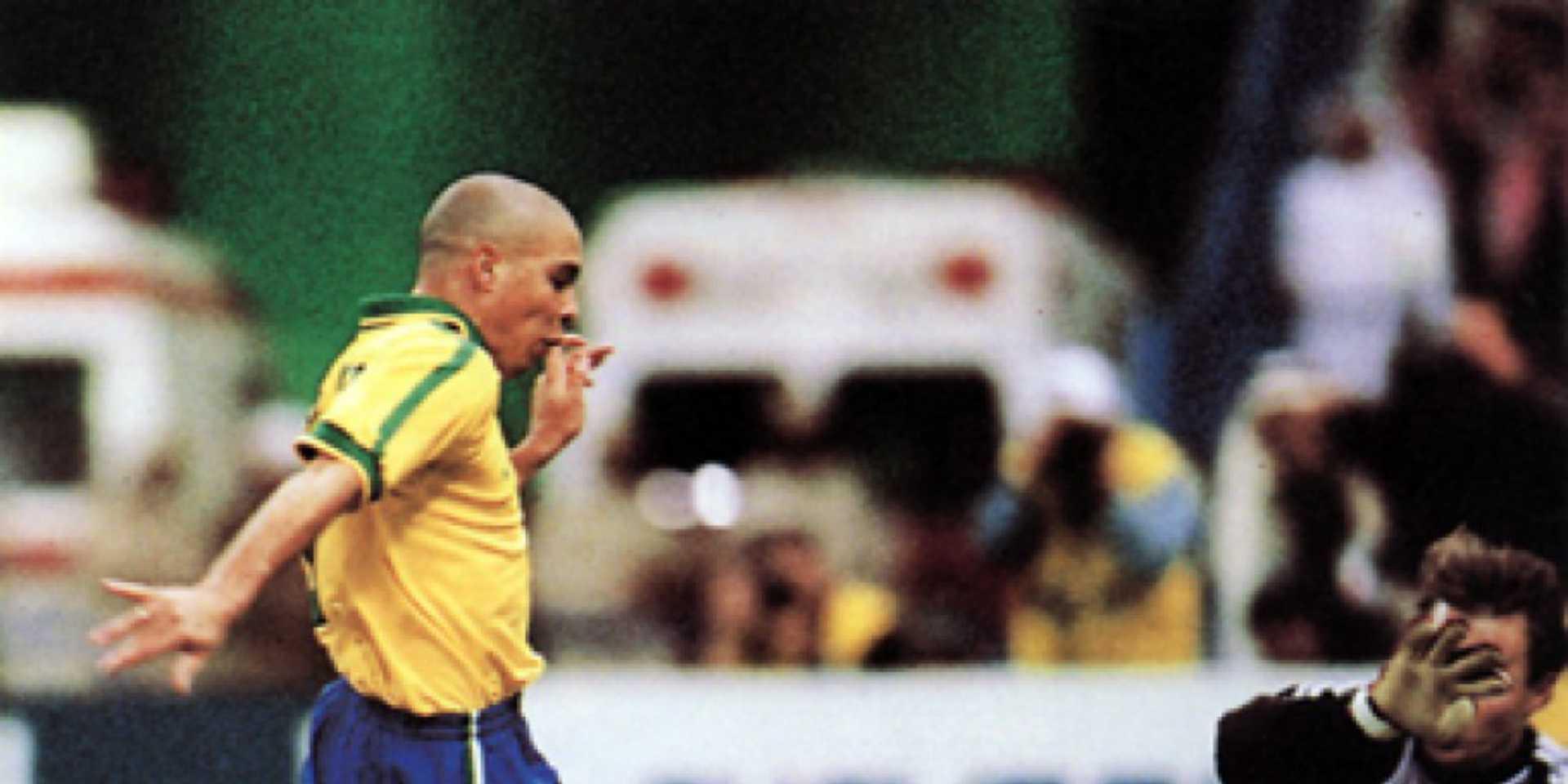 Ronaldo Fenomeno Brasil 1997