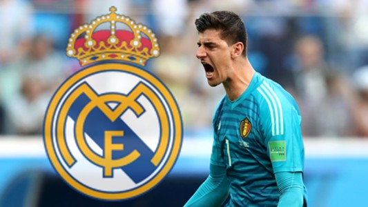 Thibaut Courtois Real Madrid GFX