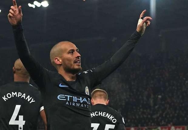 """Manchester City - Pour Pep Guardiola, David Silva est un joueur """"exemplaire"""""""
