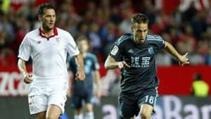 Franco Vazquez Sergio Canales Sevilla Real Sociedad La Liga