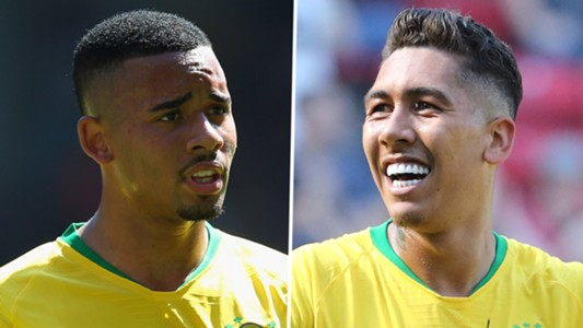 Image result for gabriel jesus vs firmino brazil