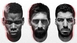 Pogba Messi Suarez adidas 2018