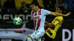 Jorge Mere, Aubameyang, Köln - Dortmund, Bundesliga, 09232017