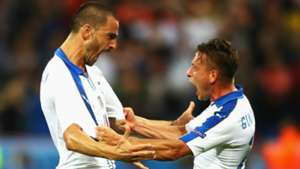 Leonardo Bonucci Emanuele Giaccherini Italy Euro 2016