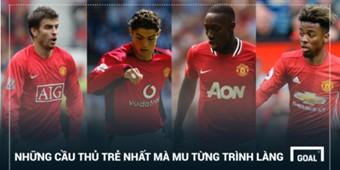 Man Utd's youngest Premier League debutants