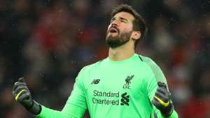 low priced 73b50 2dd3b Alisson Liverpool 2018-19