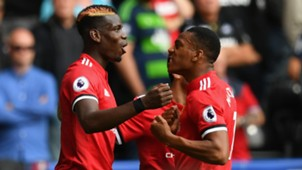 Paul Pogba Anthony Martial