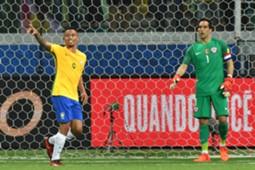 Gabriel Jesus Claudio Bravo Brazil Chile 2017