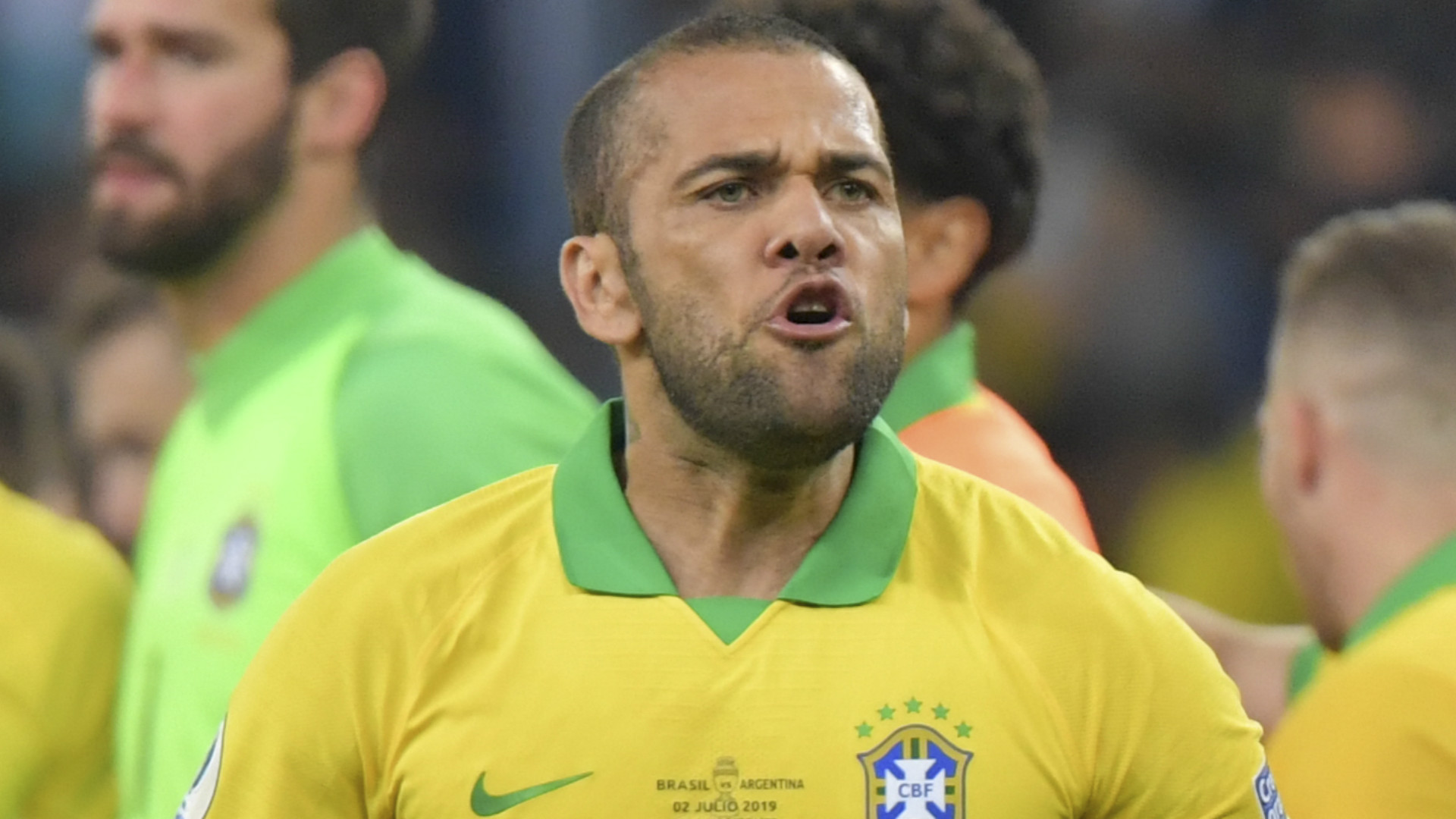 Dani Alves Brazil 2019