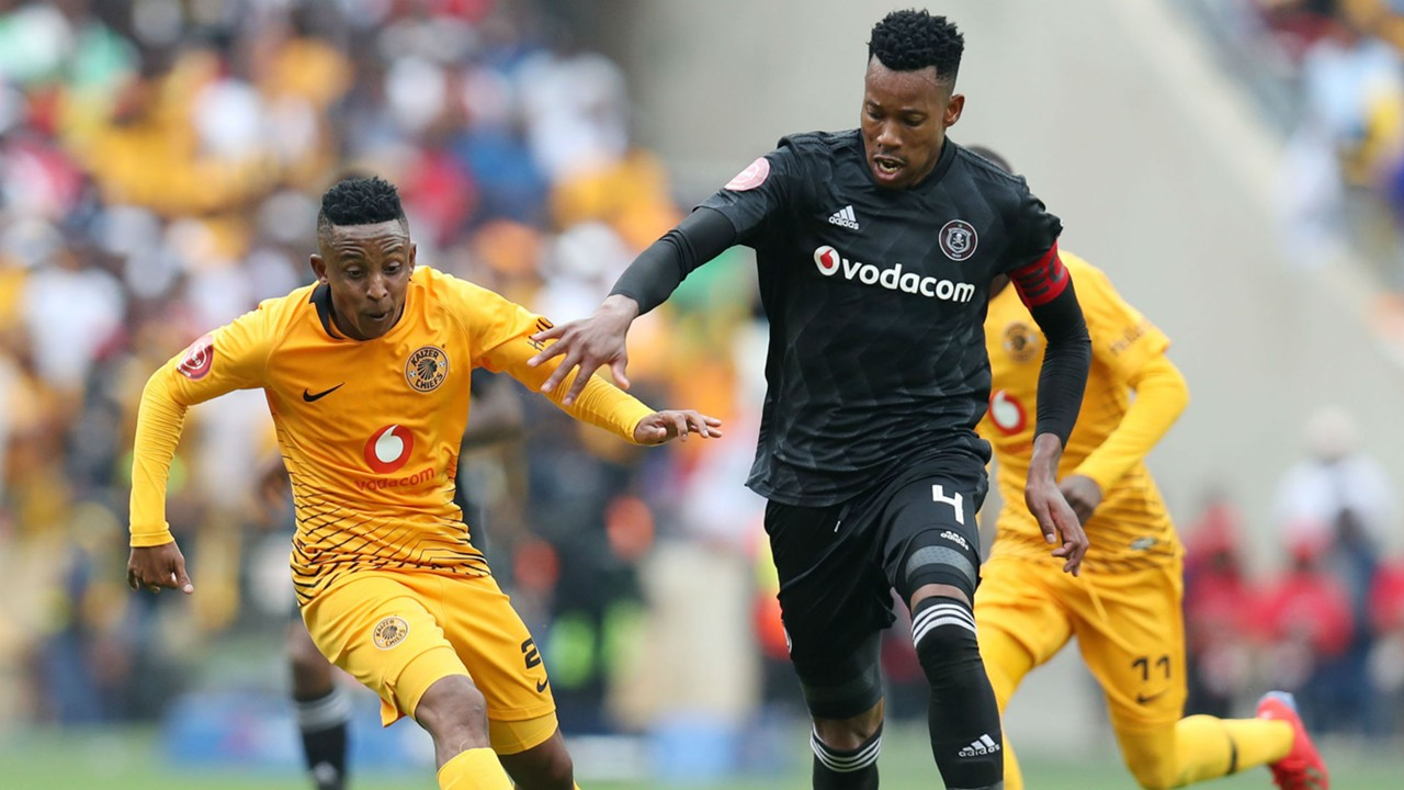 Hendrick Ekstein, Kaizer Chiefs & Happy Jele, Orlando Pirates, February 2019