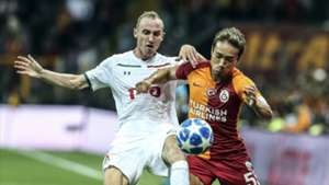 Ignatjev Yuto Nagatomo Galatasaray Lokomotiv Moscow 9182018 UCL