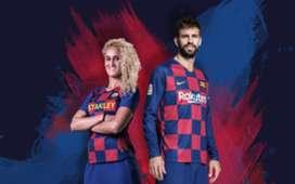 Barcelona New Kit Home 19/20