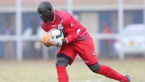 Thika United keeper Allan Owiny.