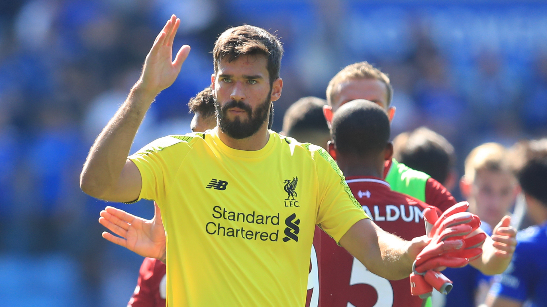 Alisson Liverpool Leicester