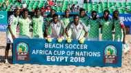 Nigeria beach soccer