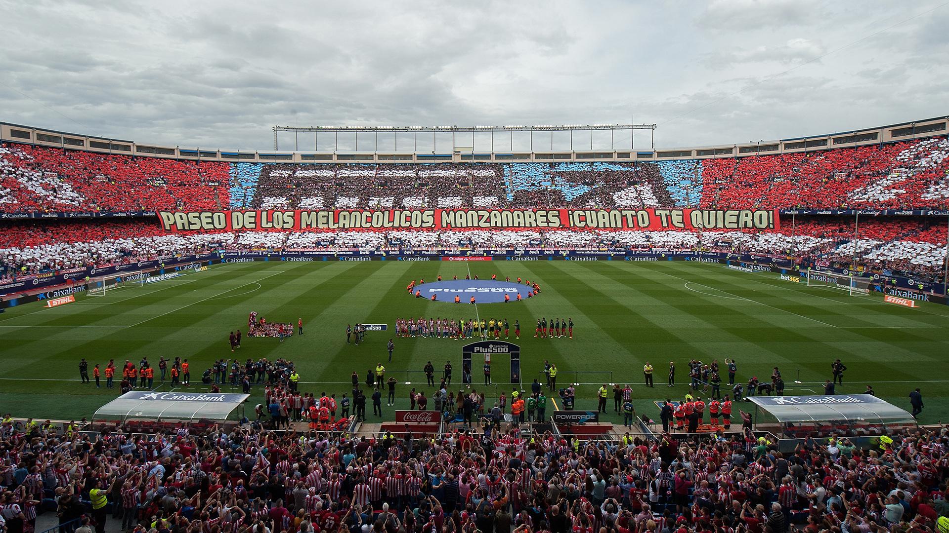 Vincente Calderon Atletico Madrid