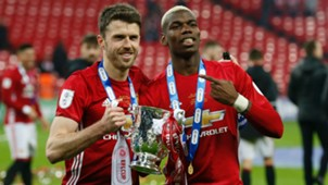 Michael Carrick Paul Pogba Manchester United
