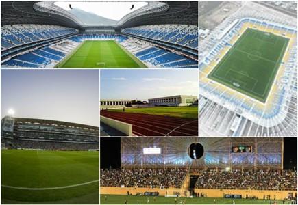 Estadios más modernos México